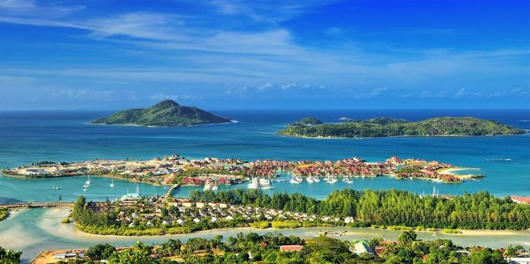 Ostrov MAHÉ Mauricius