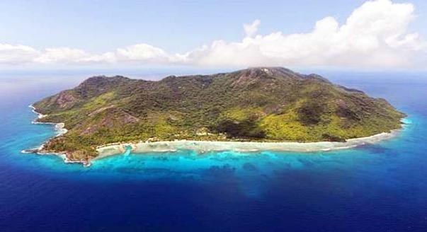 Ostrov SILHOUETTE Mauricius