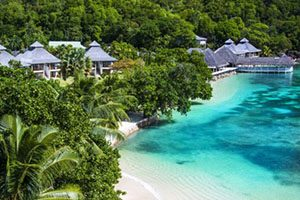Seychely LE DOMAINE DE LA RESERVE RESORT  4* (Praslin Island)