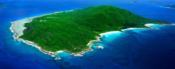Ostrov La Digue Mauricius