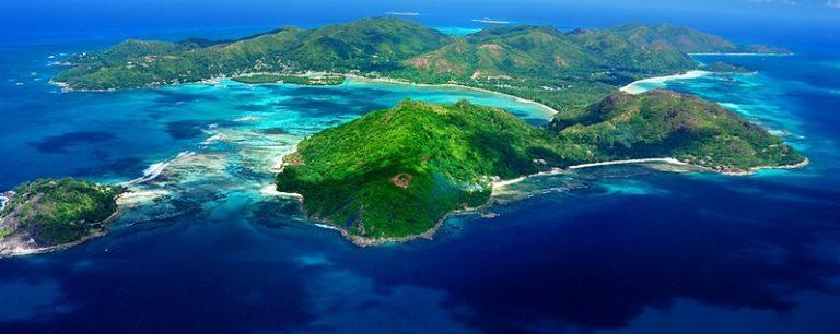 Ostrov Praslin Mauricius